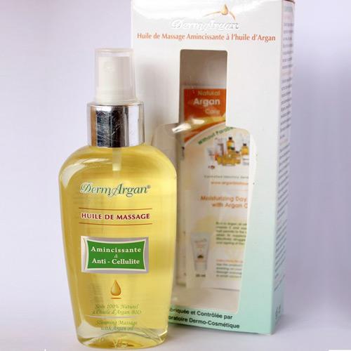 Аргановое масло для массажа с анти-целюлитным эффектом dermargan (DermArgan)