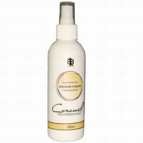 Косметический лосьон-спрей для депиляции caramell pranastudio