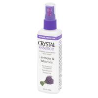 Дезодорант-спрей crystal essence с ароматом лаванды и белого чая tm crystal минеральный дезодорант стик crystal для тела tm crystal