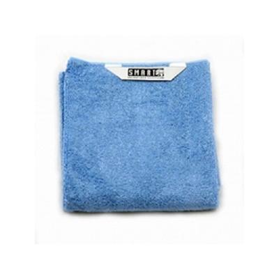 Салфетка для мытья полов голубая белый кот