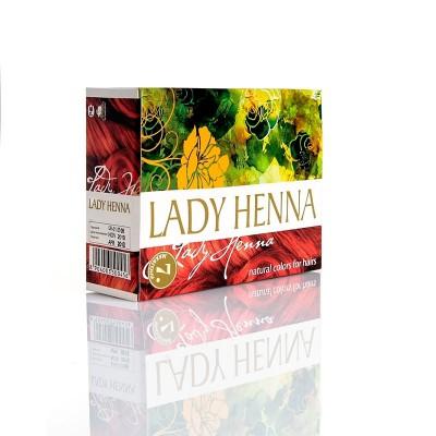 Краска для волос на основе хны lady henna aasha (цвет махагони) ааша натуральная индийская хна коричневая lady henna aasha