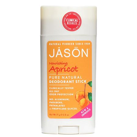 Твердый дезодорант «абрикос» jason дезодорант jāsön nourishing apricot deodorant stick объем 71 г