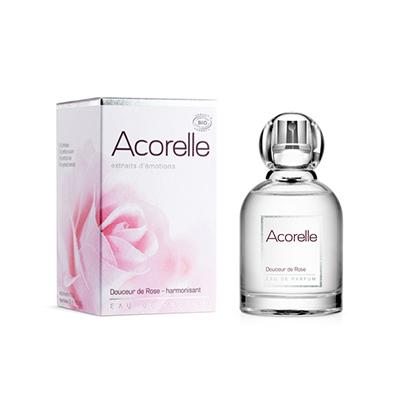 """Парфюмерная вода с эфирными маслами """"розовая роза"""" acorelle от DeoShop.ru"""