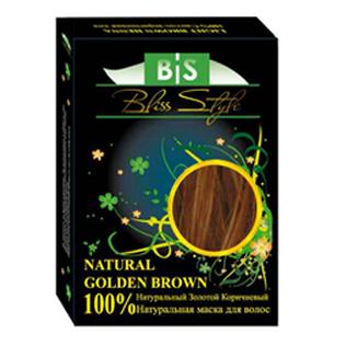 Хна натуральная золотисто-коричневая (NATURAL GOLDEN BROWN) 100 гр - Магазин натуральной косметики.