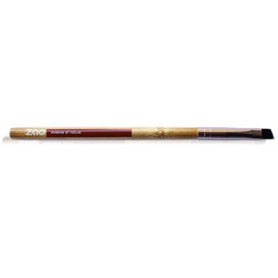 Бамбуковая кисточка скошенная для теней и бровей zao