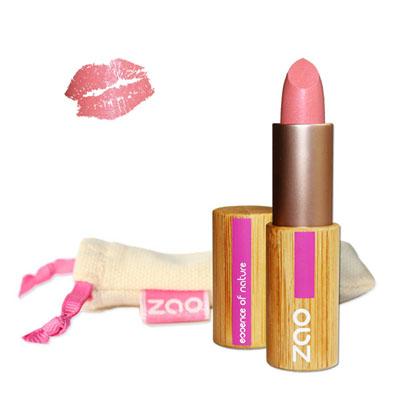 Губная помада перламутровая 402 (жемчужно-розовый) zao (ZAO)