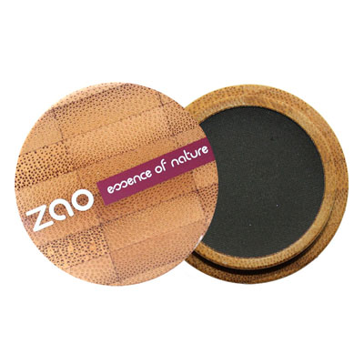 Тени для век матовые 206 (черный) zao