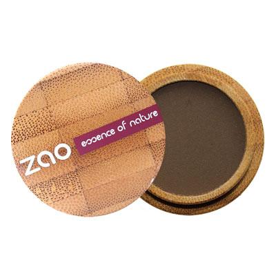 Тени для век матовые 203 (темно-коричневый) zao