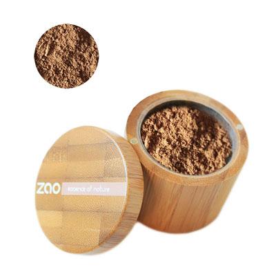 Минеральная рассыпчатая пудра 506 (коричнево-бежевый) zao (ZAO)