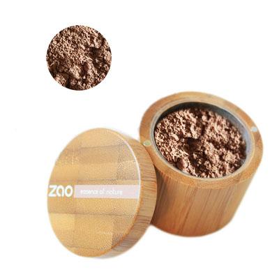 Минеральная рассыпчатая пудра 505 (кофейно-бежевый) zao (ZAO)