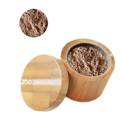 Минеральная рассыпчатая пудра 503 (персиково-бежевый) zao (ZAO)
