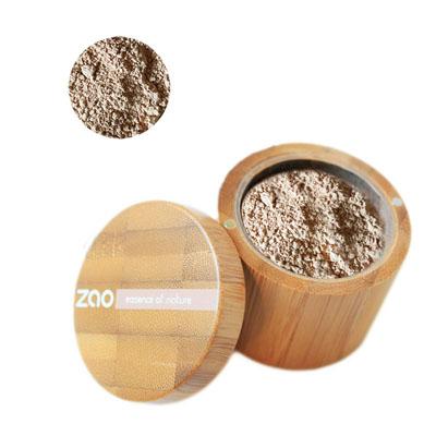 Минеральная рассыпчатая пудра 501 (светло-бежевый) zao (ZAO)