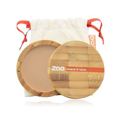 Пудра компактная 302 (персиково-бежевый) zao (ZAO)