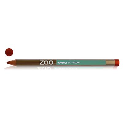 Карандаш для глаз, бровей, губ 610 (медно-красный) zao
