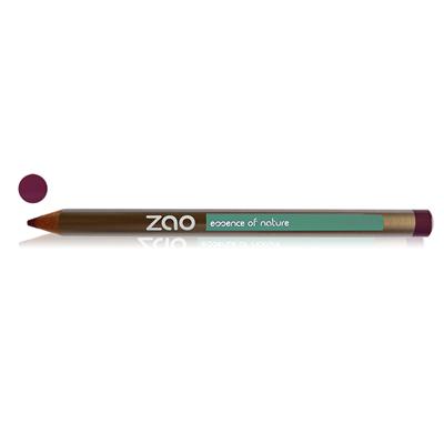 Карандаш для глаз, бровей, губ 606 (сливовый) zao