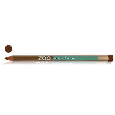 Карандаш для глаз, бровей, губ 602 (темно-коричневый) zao