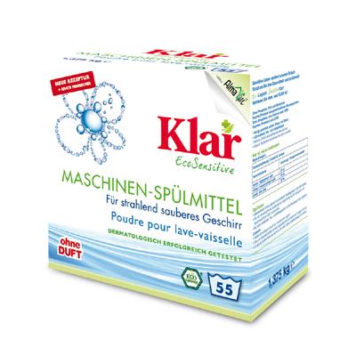 Порошок для посудомоечной машины гипоаллергенный (1,375 кг) klar