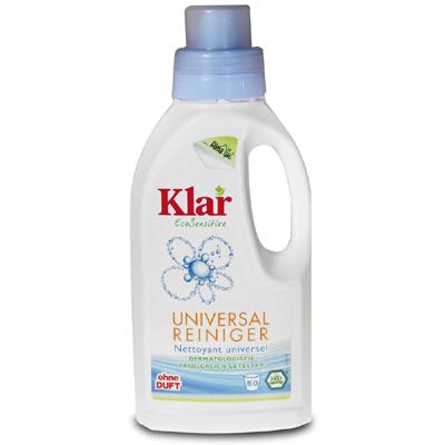Универсальное чистящее средство для водостойких поверхностей (0,5 л) klar