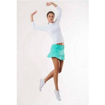 Бадлон женский для йоги с декоративным перекрутом на стойке DeoShop 1488.000