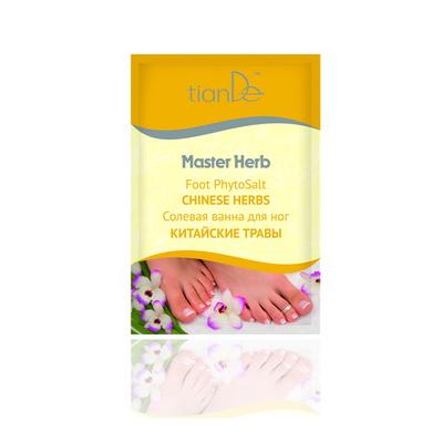 """Солевая ванна для ног """"китайские травы"""", master herb тианде от DeoShop.ru"""