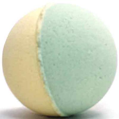 Бурлящий шарик для ванн хвойная бомба ми&ко