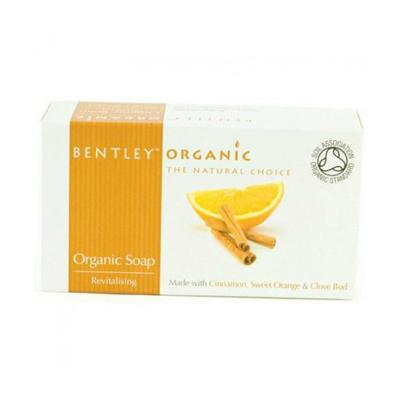 Мыло. оживляющее. с корицей, сладким апельсином и гвоздикой bentley organic (Bentley Organic)