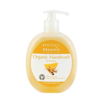 Мыло жидкое. оживляющее. с корицей, сладким апельсином и гвоздикой bentley organic (Bentley Organic)