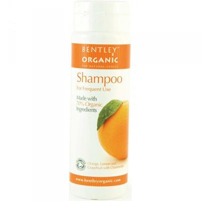 Шампунь для ежедневного использования. апельсин, лимон, грейпфрут и ромашка bentley organic