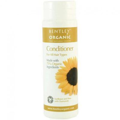 Кондиционер для волос. подсолнечник, орех ши и ромашка bentley organic