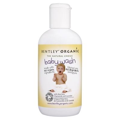 Детское средство для купания с алоэ вера, ромашкой и лавандой  bentley organic
