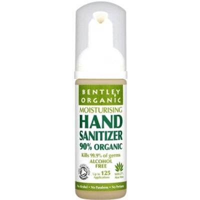 Очиститель для рук (увлажняющий) bentley organic