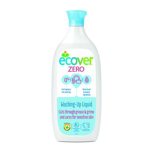 Экологическая жидкость для мытья посуды zero ecover