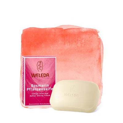 Розмариновое мыло weleda