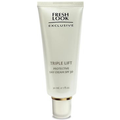 Защитный дневной крем spf 30  fresh look fresh look ночной крем fresh look basic care rich night cream fl055 50 мл