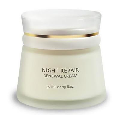 Обновляющий ночной крем для всех типов кожи fresh look ночной крем fresh look