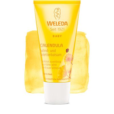Защитный бальзам от ветра и холода с календулой weleda (Weleda)