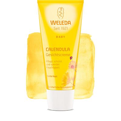 Крем для лица с календулой weleda (Weleda)