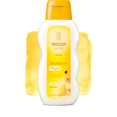 Масло с календулой для младенцев weleda (Weleda)