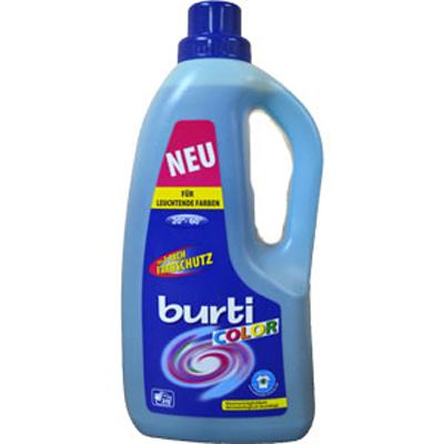 Средство синтетическое жидкое для цветного белья color liquid burti