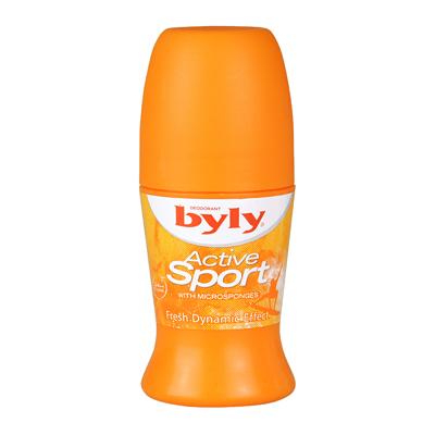 Роликовый дезодорант-антиперспирант активный спорт deo 50 мл byly DeoShop 81.000