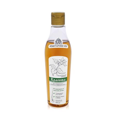 Натуральный шампунь крапива для нормальных и склонных к жирности волос клеона (Клеона)