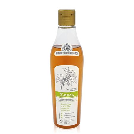 Натуральный шампунь хмель для нормальных и склонных к сухости волос клеона (Клеона)