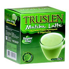 Чай зелёный с протеинами  matcha latte truslen