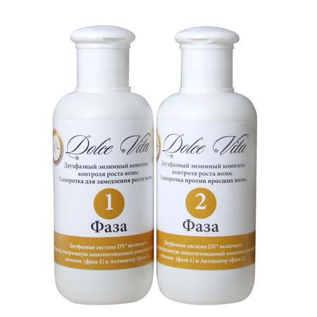 Двухфазный энзимный комплекс для замедления роста волос dolce vita D7024