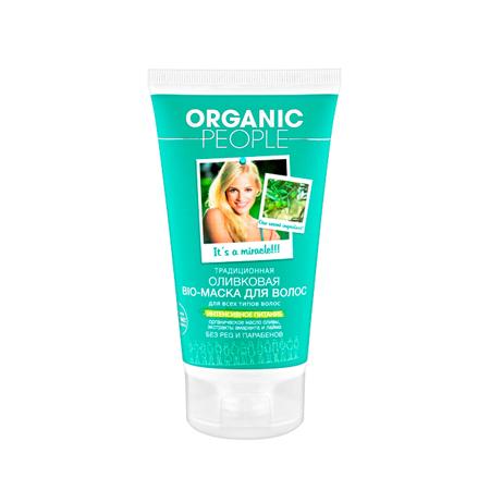 Маска-био для волос оливковая organic people от DeoShop.ru