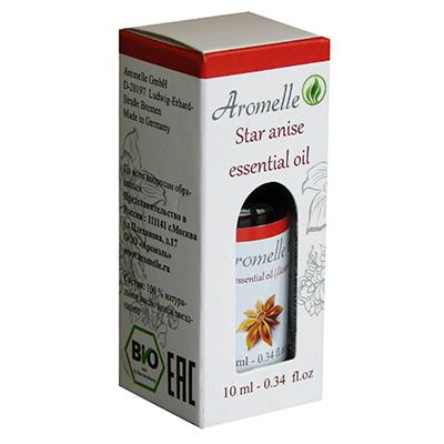 Эфирное масло аниса aromelle средства для ухода за лицом и телом