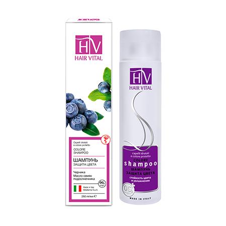 Шампунь защита цвета hair vital шампунь аргановый нектар hair vital