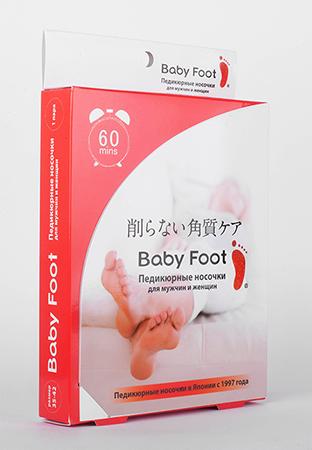 Японское средство по уходу за ступнями ног baby foot (Baby Foot)