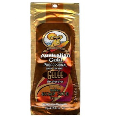 Gelee accelerator усилитель загара с экстрактом семян конопли 15 мл. australian gold (Australian Gold)