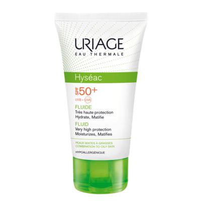 Исеак - солнцезащитная эмульсия spf 50  uriage